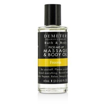 Freesia Massage & Body Oil (60ml/2oz)