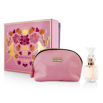 Anna Sui Secret Wish Fairy Dance Набор: Туалетная Вода Спрей 30мл/1унц + Косметичка 1pc+1pouch