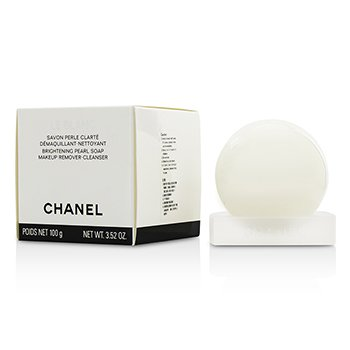 Le Blanc Brightening Pearl Soap Makeup Remover-Cleanser (100g/3.52oz)