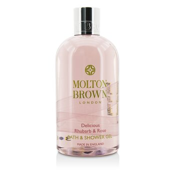 Delicious Rhubarb & Rose Bath & Shower Gel (300ml/10oz)