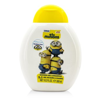 Minions 2 In 1 Shower Gel & Shampoo (300ml/10.2oz)