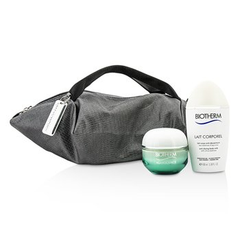Aquasource & Body Care X Mandarina Duck Coffret: Cream N/C 50ml + Anti-Drying Body Care 100ml + Handle Bag (2pcs+1bag)