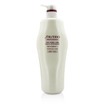 Shiseido The Hair Care Aqua Intensive Ухаживающее Средство 1 - # Airy Feel (для Поврежденных Волос) 1000g/33.8oz