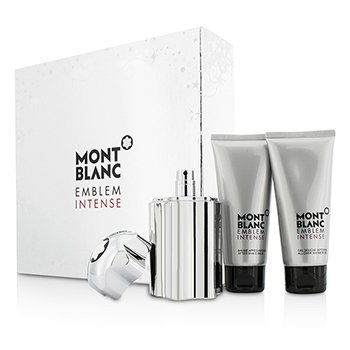 Emblem Intense Coffret: Eau De Toilette Spray 100ml/3.3oz + Shower Gel 100ml/3.3oz + After Shave Balm 100ml/3.3oz (3pcs)