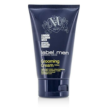 Men's Grooming Cream (Lightweight Cream, Natural Definition and Control, Nourishes, Builds Thickness and Texture) (100ml/3.4oz)