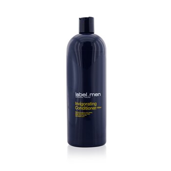 Men's Invigorating Conditioner (Restores Moisture and Vitality, Tones and Balances Scalp, Healthy Shiny Results) (1000ml/33.8oz)