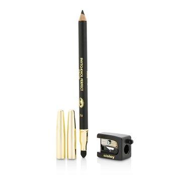 Phyto Khol Perfect Eyeliner (With Blender and Sharpener) - # Black (1.2g/0.04oz)