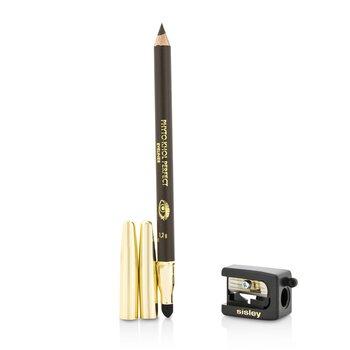 Phyto Khol Perfect Eyeliner (With Blender and Sharpener) - # Ebony (1.2g/0.04oz)