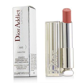 Dior Addict Hydra Gel Core Mirror Shine Lipstick - #643 Diablotine (3.5g/0.12oz)