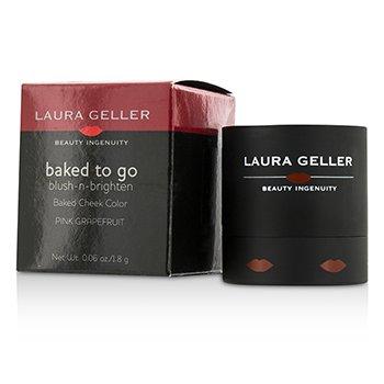 Laura Geller Baked To Go Blush N Brighten Запеченные Румяна - #Pink Grapefruit 1.8g/0.06oz