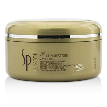 SP Luxe Oil Keratin Restore Mask (Reconstructs Hair Fiber) (150ml/5oz)