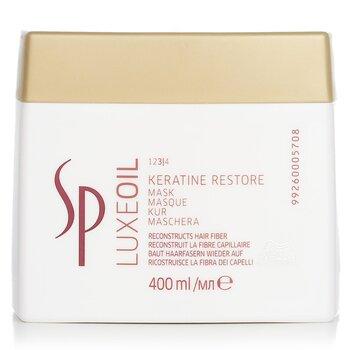 SP Luxe Oil Keratin Restore Mask (Reconstructs Hair Fiber) (400ml/13.5oz)