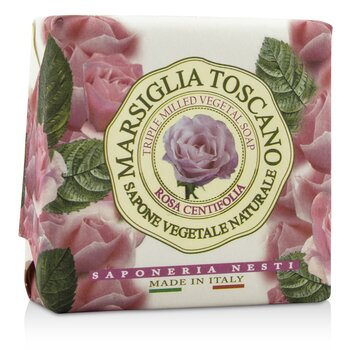 Marsiglia Toscano Triple Milled Vegetal Soap - Rosa Centifolia (200g/7oz)