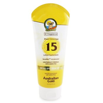 Sheer Coverage Lotion Sunscreen Broad Spectrum SPF 15 (177ml/6oz)