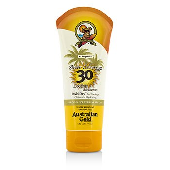 Sheer Coverage Lotion Sunscreen Broad Spectrum SPF 30 (177ml/6oz)