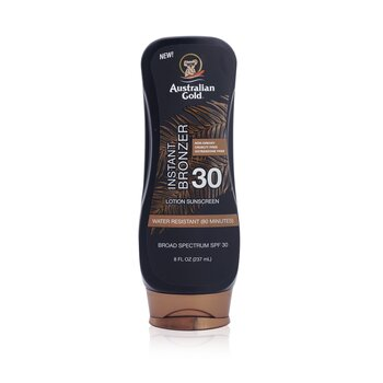 Lotion Sunscreen Broad Spectrum SPF 30 with Instant Bronzer (237ml/8oz)