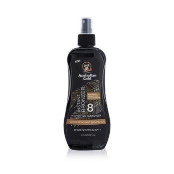 Spray Gel Sunscreen Broad Spectrum SPF 8 with Instant Bronzer (237ml/8oz)