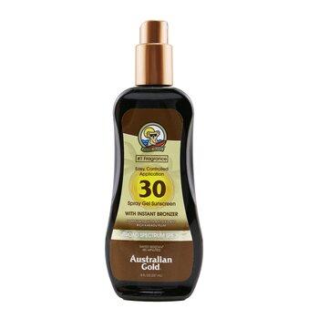 Spray Gel Sunscreen Broad Spectrum SPF 30 with Instant Bronzer (237ml/8oz)