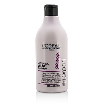 Professionnel Expert Serie - Vitamino Color Fresh Feel Bodifying + Perfecting <Fresh Effect> Masque - Rinse Out (500ml/16.9oz)