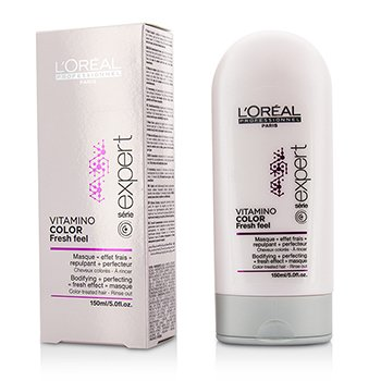LOreal Professionnel Expert Serie - Vitamino Color Fresh Feel Bodifying + Perfecting Fresh Effect Маска - Смываемая 150ml/5oz