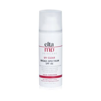 UV Clear Facial Sunscreen SPF 46 - For Skin Types Prone To Acne, Rosacea & Hyperpigmentation (48g/1.7oz)