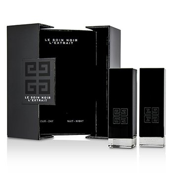 Le Soin Noir L'Extrait: L'Extrait Day Serum 15ml/0.5oz + L'Extrait Night Serum 15ml/0.5oz (2pcs)