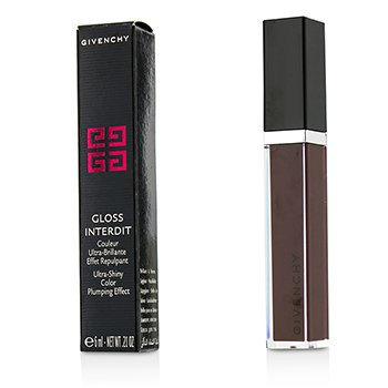 Givenchy Gloss Interdit Ультра Сияющий Объемный Блеск для Губ - # 31 Lune Carmin 6ml/0.21oz