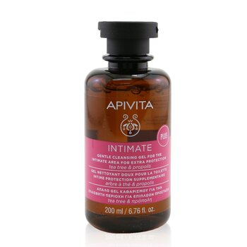 Intimate Gentle Cleansing Gel For The Intimate Area For Extra Protection with Tea Tree & Propolis (200ml/6.76oz)