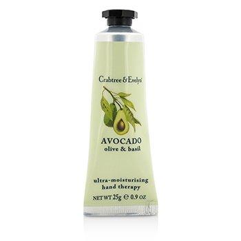 Avocado, Olive & Basil Ultra-Moisturising Hand Therapy (25g/0.9oz)