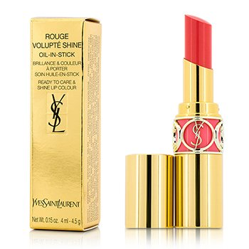 Yves Saint Laurent Rouge Volupte Shine Oil Губная Помада - # 41 Corail A Porter 4.5g/0.15oz