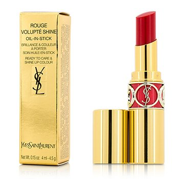 Yves Saint Laurent Rouge Volupte Shine Oil Губная Помада - # 45 Rouge Tuxedo 4.5g/0.15oz