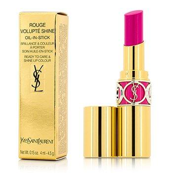 Yves Saint Laurent Rouge Volupte Shine Oil Губная Помада - # 50 Fuchsia Stiletto 4.5g/0.15oz
