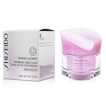 Shiseido White Lucent MultiBright Ночной Крем 50ml/1.7oz