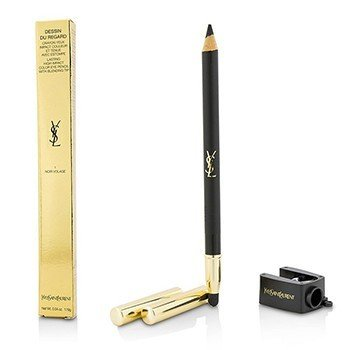 Yves Saint Laurent Dessin Du Regard Lasting High Impact Color Карандаш для Глаз - # 1 Noir Volage 1.19g/0.04oz