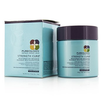 Pureology Strength Cure Восстанавливающая Маска (для Поврежденных Окрашенных Волос) 150ml/5.2oz