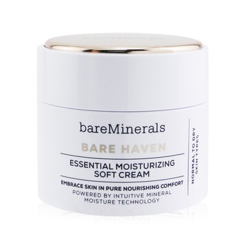 Bare Haven Essential Moisturizing Soft Cream - Normal To Dry Skin Types (50g/1.7oz)
