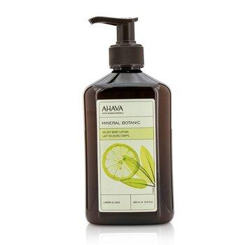 Mineral Botanic Velvet Body Lotion - Lemon & Sage (400ml/13.5oz)
