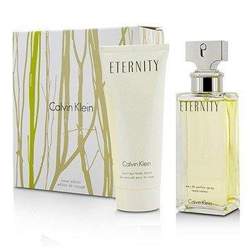 Calvin Klein Eternity Coffret: EDP Spray 100ml/3.4oz + Luxurious Body Lotion 100ml/3.4oz 2pcs