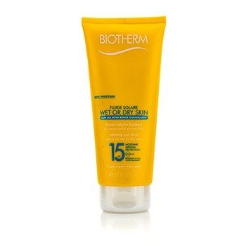 Fluide Solaire Wet Or Dry Skin Melting Sun Fluid SPF 15 For Face & Body - Water Resistant (200ml/6.76oz)