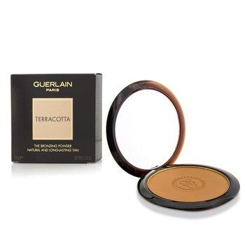 Guerlain 嬌蘭 提洛可古銅蜜粉餅 Terracotta The Bronzing Powder (Natural & Long Lasting Tan) - # 05 Medium Brune
