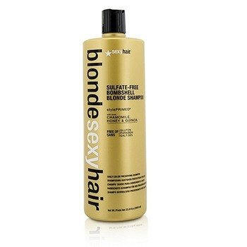 Blonde Sexy Hair Sulfate-Free Bombshell Blonde Shampoo (Daily Color Preserving) (1000ml/33.8oz)
