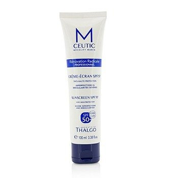 MCEUTIC Sunscreen SPF 50+ UVA/UVB Very High Protection - Salon Size (100ml/3.38oz)