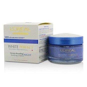 LOreal Dermo-Expertise White Perfect Успокаивающий Ночной Крем (Дата Изготовления: 09/2013) 50ml/1.7oz