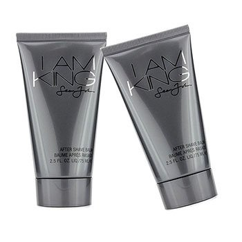 Sean John I Am King After Shave Balm Duo Pack (Unboxed) 2x75ml/2.5oz  men