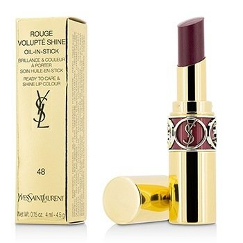 Yves Saint Laurent Rouge Volupte Shine Oil Губная Помада - # 48 Smoking Plum 4.5g/0.15oz