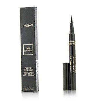 Guerlain Precision Подводка для Глаз - # 01 Ultra Black 1ml/0.03oz