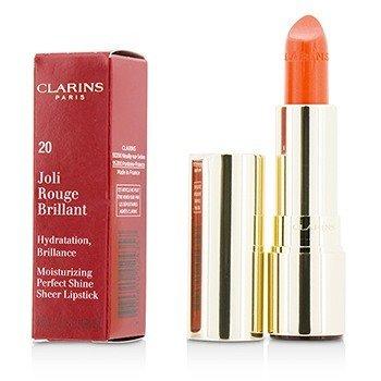 Joli Rouge Brillant (Moisturizing Perfect Shine Sheer Lipstick) - # 20 Coral Tulip (3.5g/0.1oz)