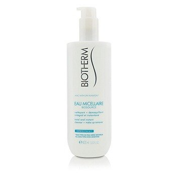 Biosource Eau Micellaire Total & Instant Cleanser + Make-Up Remover - For All Skin Types (400ml/13.52oz)