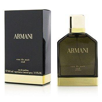 Giorgio Armani Armani Eau De Nuit Oud Парфюмированная Вода Спрей 100ml/3.4oz