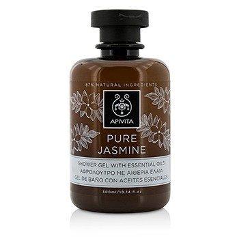 Pure Jasmine Shower Gel With Essential Oils (300ml/10.14oz)